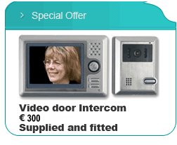 Door Intercom Systems Dublin l Alarm Systems l Intruder Alarms