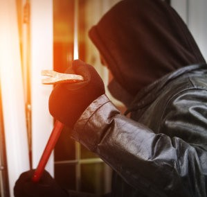 Burglar can break through your front door in just nine seconds, says expert